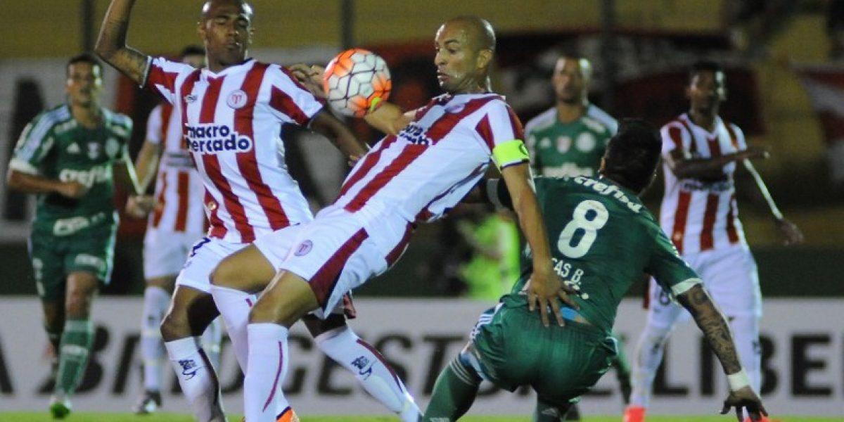 River Plate apeló a la garra y le sacó un empate a Palmeiras en Uruguay