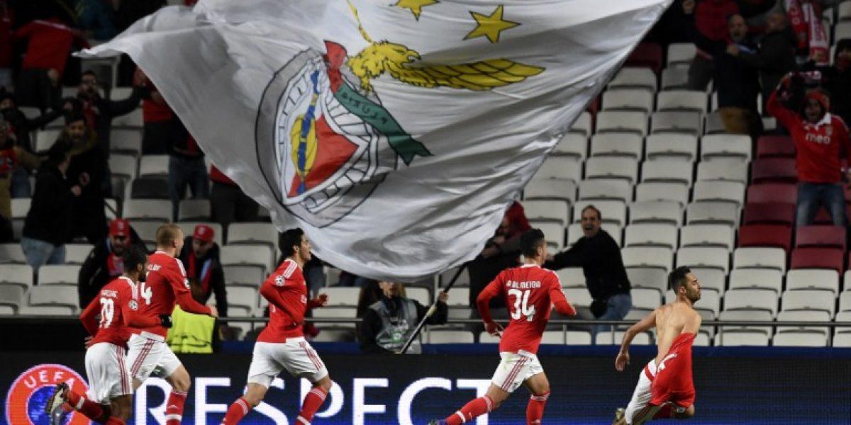 Un agónico acierto de Jonas le dio el tirunfo a Benfica sobre Zenit por Champions