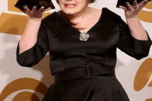 Así lucía Adele en los Grammy 2009 Foto:Getty Images. Imagen Por: