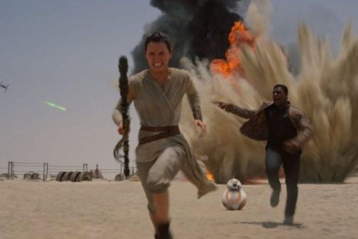 """Mientras que a nivel internacional ha registrado 546 millones de dólares, lo que da un total de mil 100 millones de dólares. Foto:""""Lucas Films"""". Imagen Por:"""