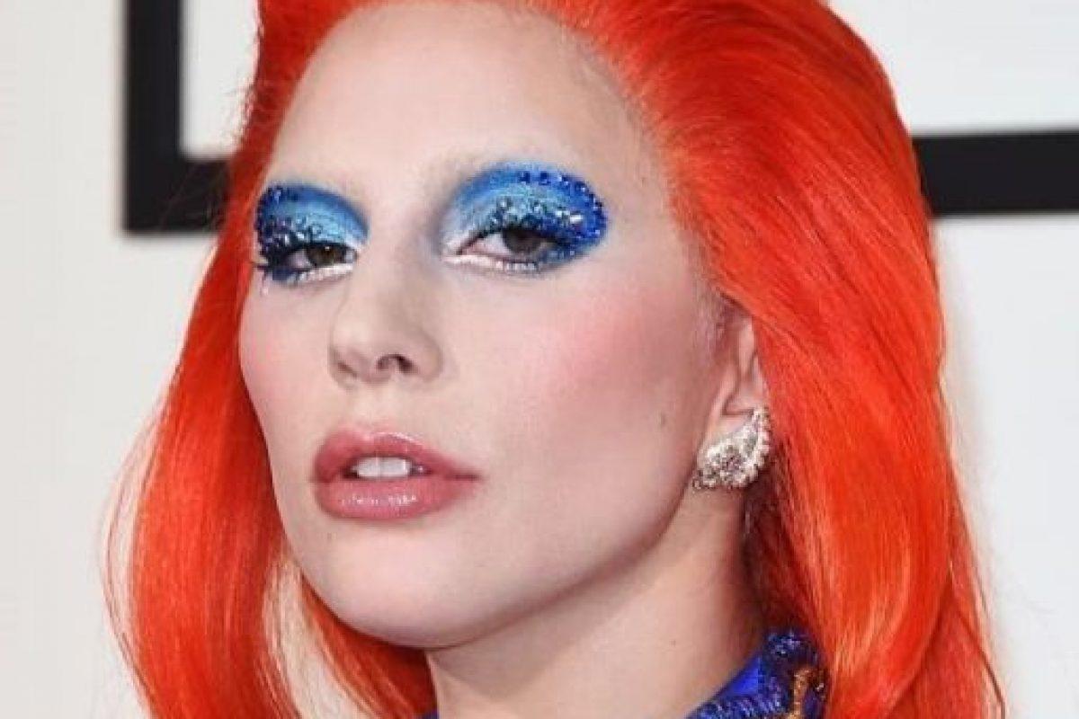 Lady Gaga quiso homenajear a David Bowie. Foto:vía Getty Images. Imagen Por: