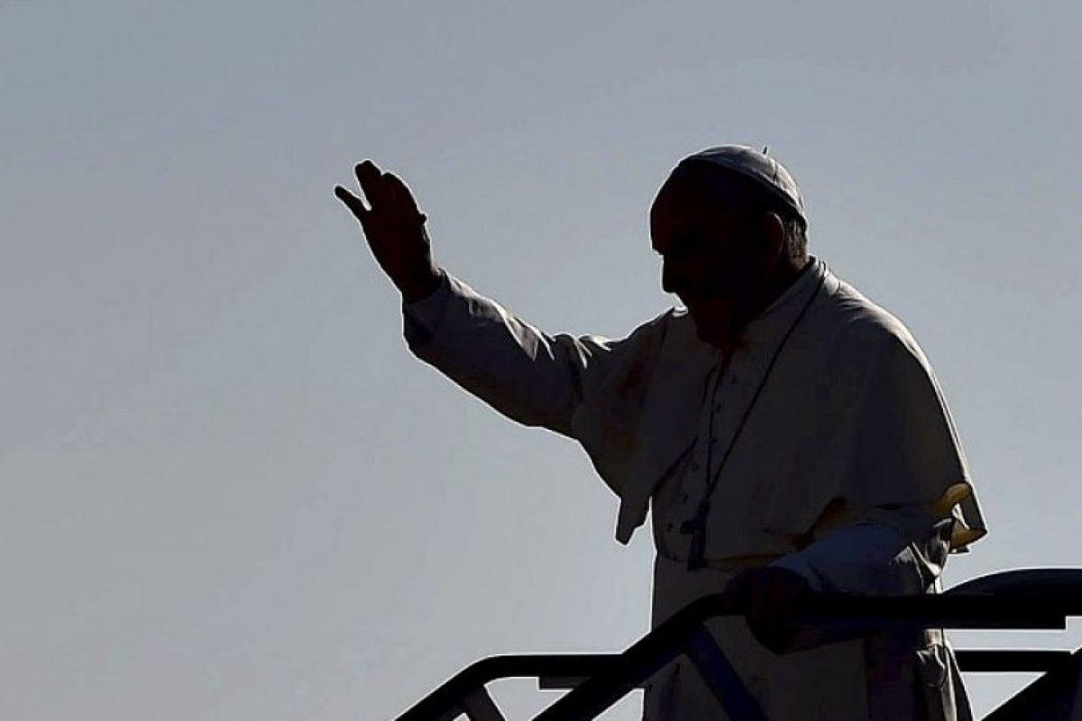 Algunas de las fotos más destacadas de la visita del Papa Francisco a México Foto:AFP. Imagen Por: