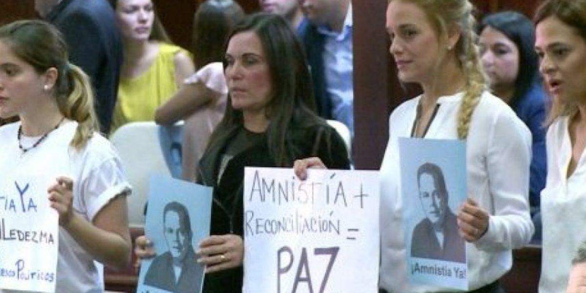 La Asamblea Nacional venezolana aprueba ley de amnistía para opositores presos