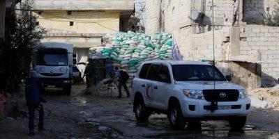 La ONU envía ayuda humanitaria a localidades asediadas de Siria