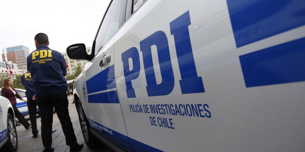 GPS de celular los delató: PDI detiene a banda que asaltó a familia en Colina