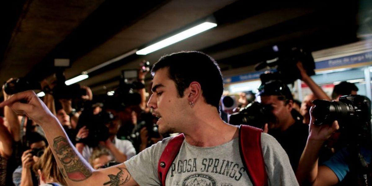 """Organizador de evasión masiva en el metro: """"Se sintió como un tapa boca"""""""