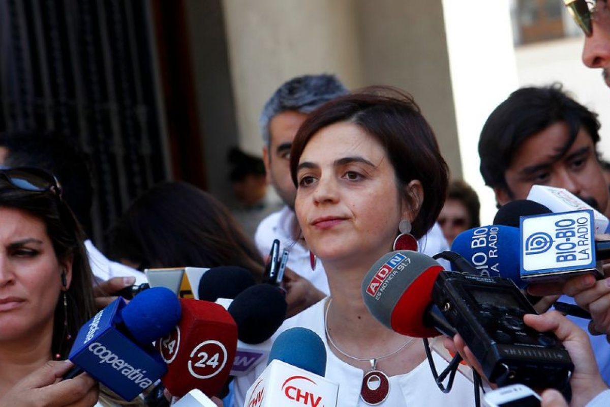 Claudia Pascual, vocera subrogante Foto:Agencia UNO. Imagen Por: