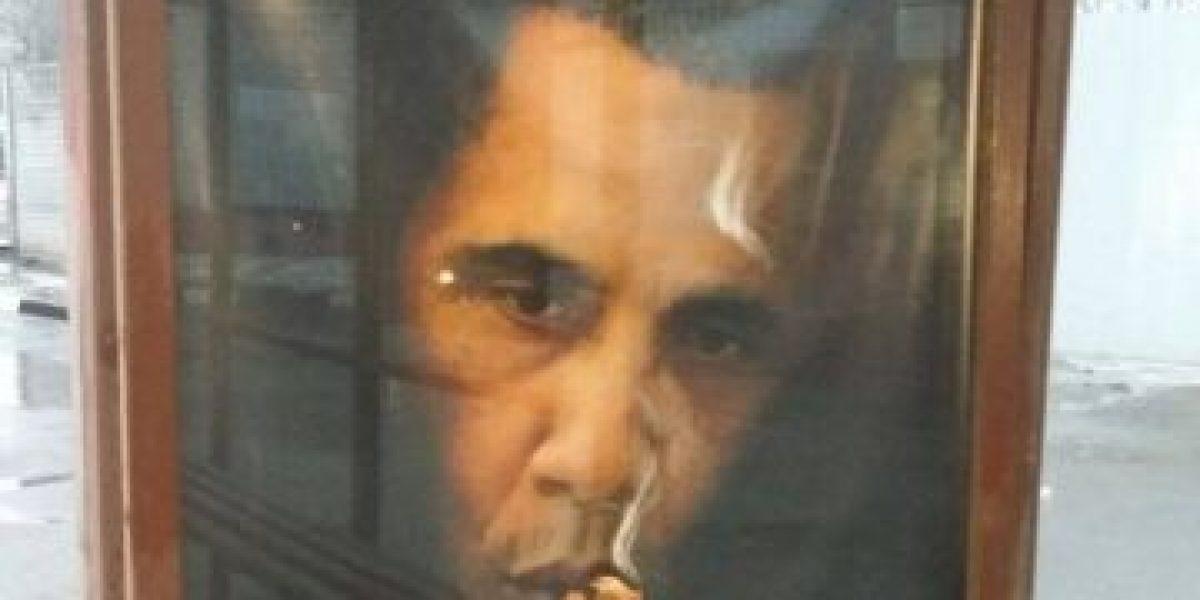 """Polémica campaña rusa antitabaco: """"Fumar mata más gente que Obama"""""""