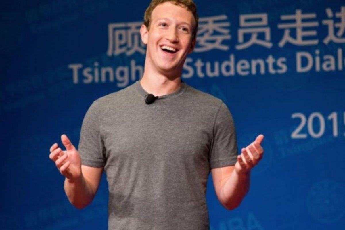 Mark en un evento en China en octubre de 2015. Foto:Getty Images. Imagen Por: