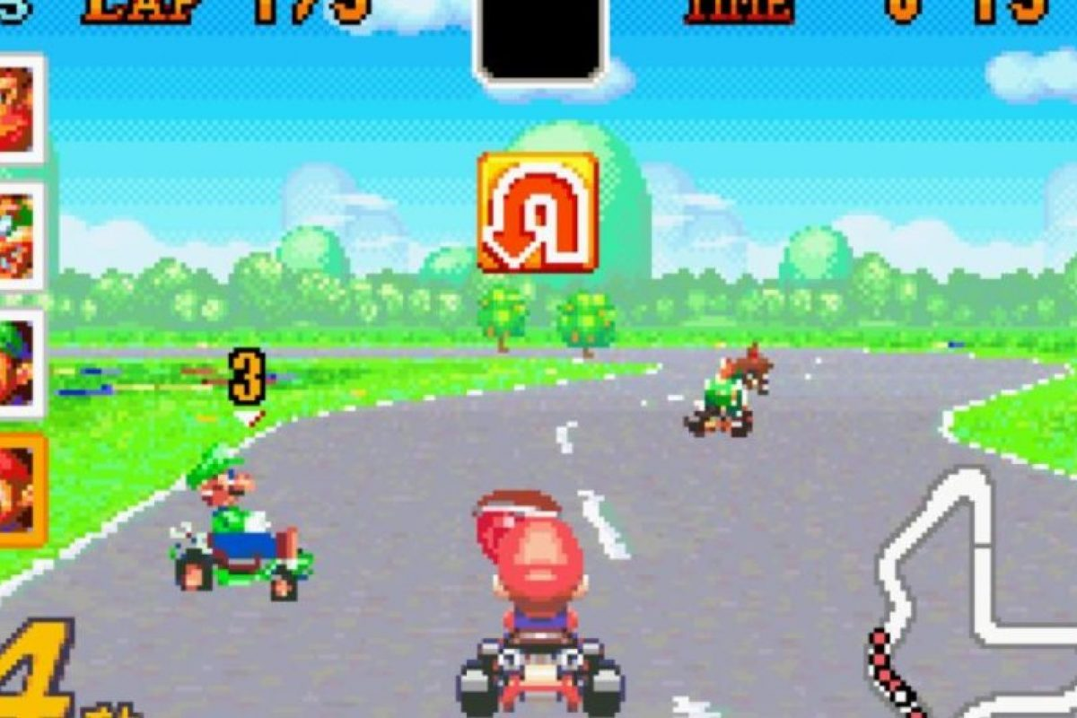 """Mario Kart: Super Circuit"" para Game Boy Advance (2001). Foto: Nintendo. Imagen Por:"