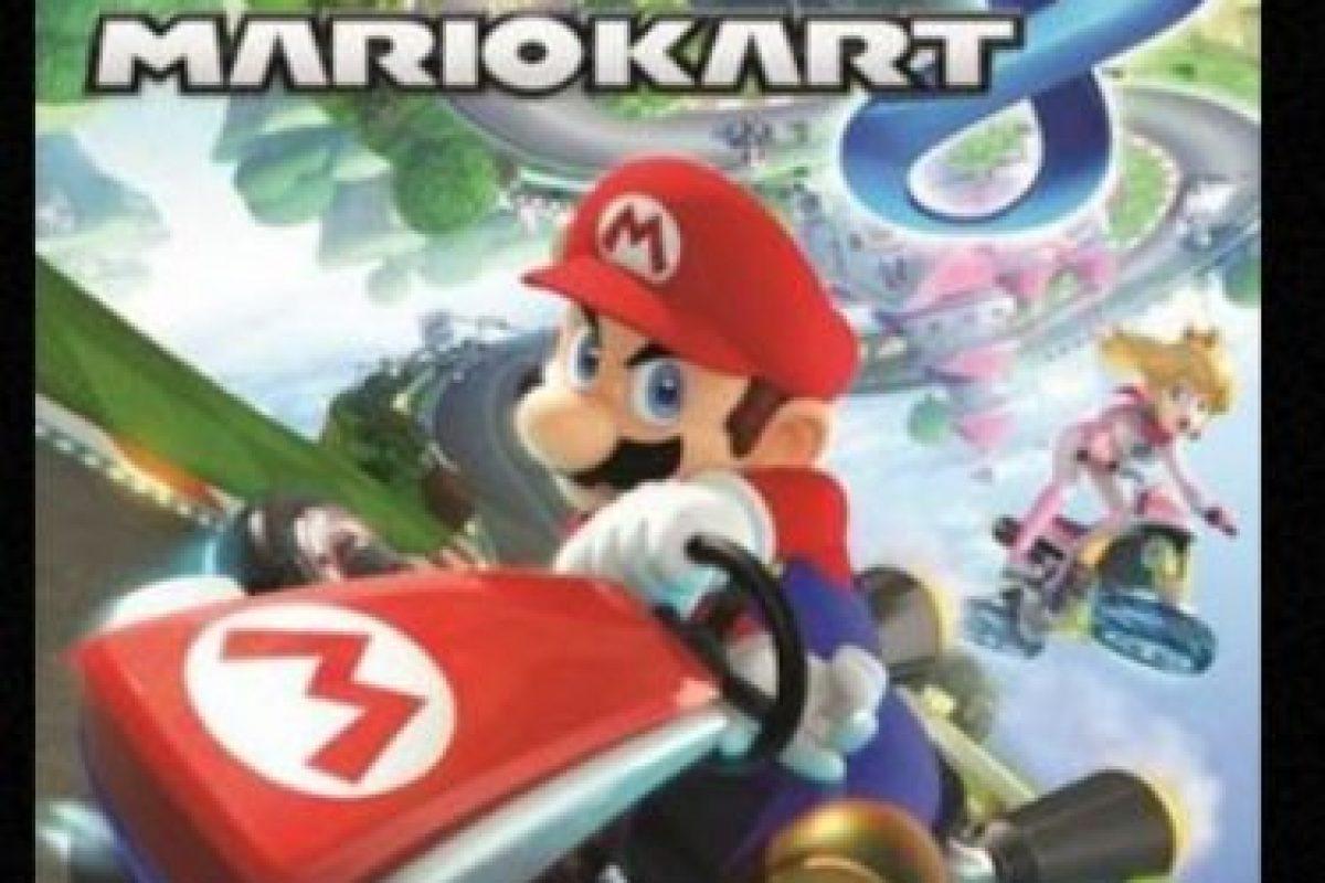 """Mario Kart 8"" para nintendo Wii U (2014). Foto:Nintendo. Imagen Por:"