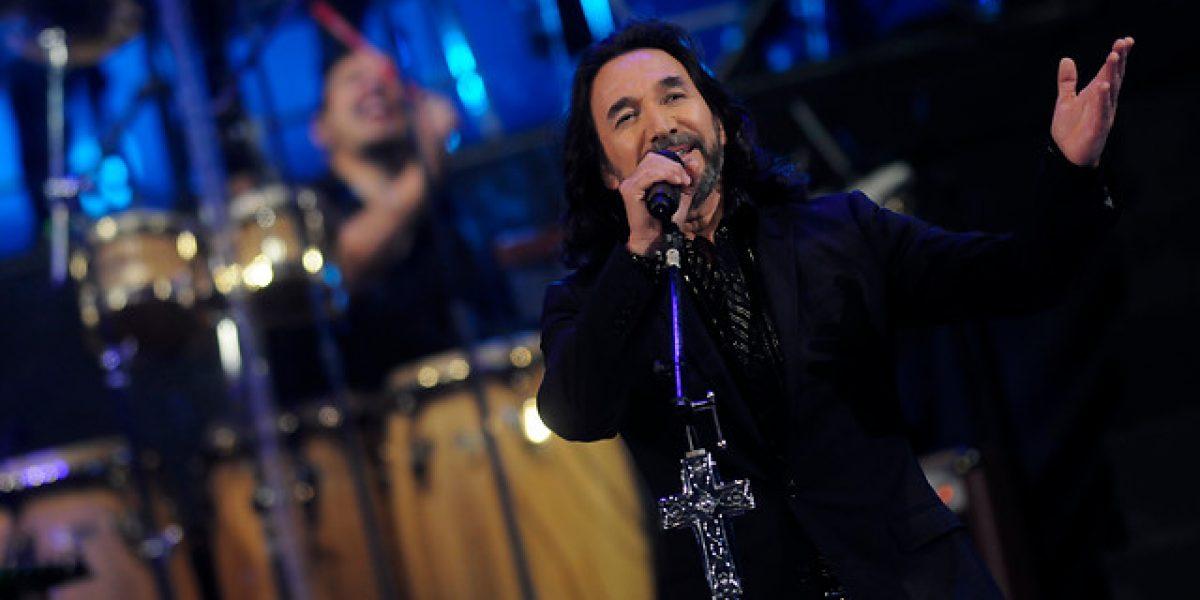 Después de su presentación en la Quinta Vergara, Marco Antonio Solis volverá en abril a Chile