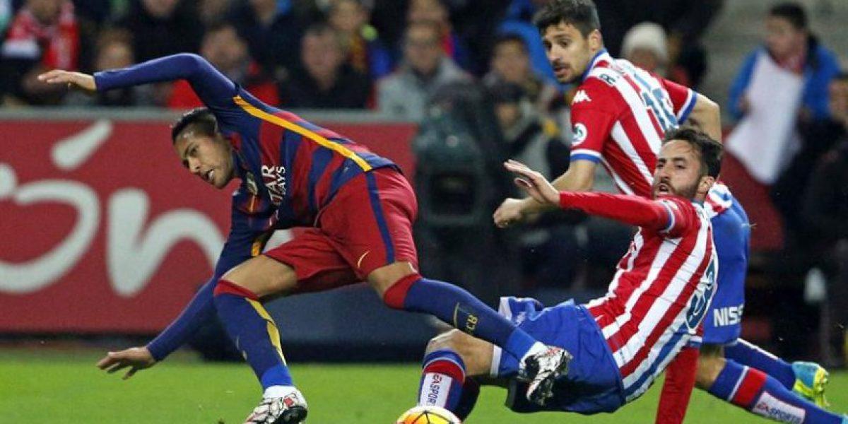El Sporting del debutante Lichnovsky no pudo frenar la máquina triunfadora del Barça