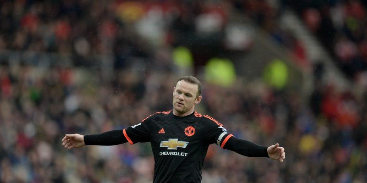 Otra mala para Van Gaal: Wayne Rooney estaría dos meses sin jugar