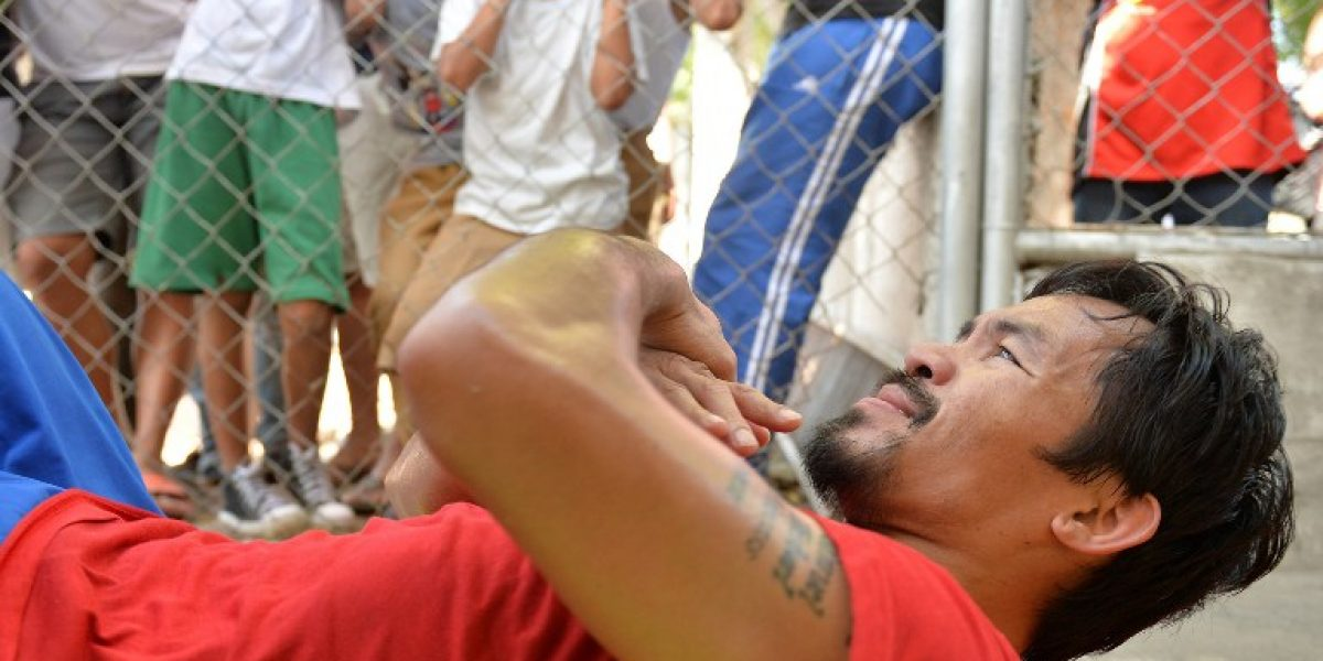 Marca deportiva le quita auspicio a Pacquiao por declaraciones homofóbicas