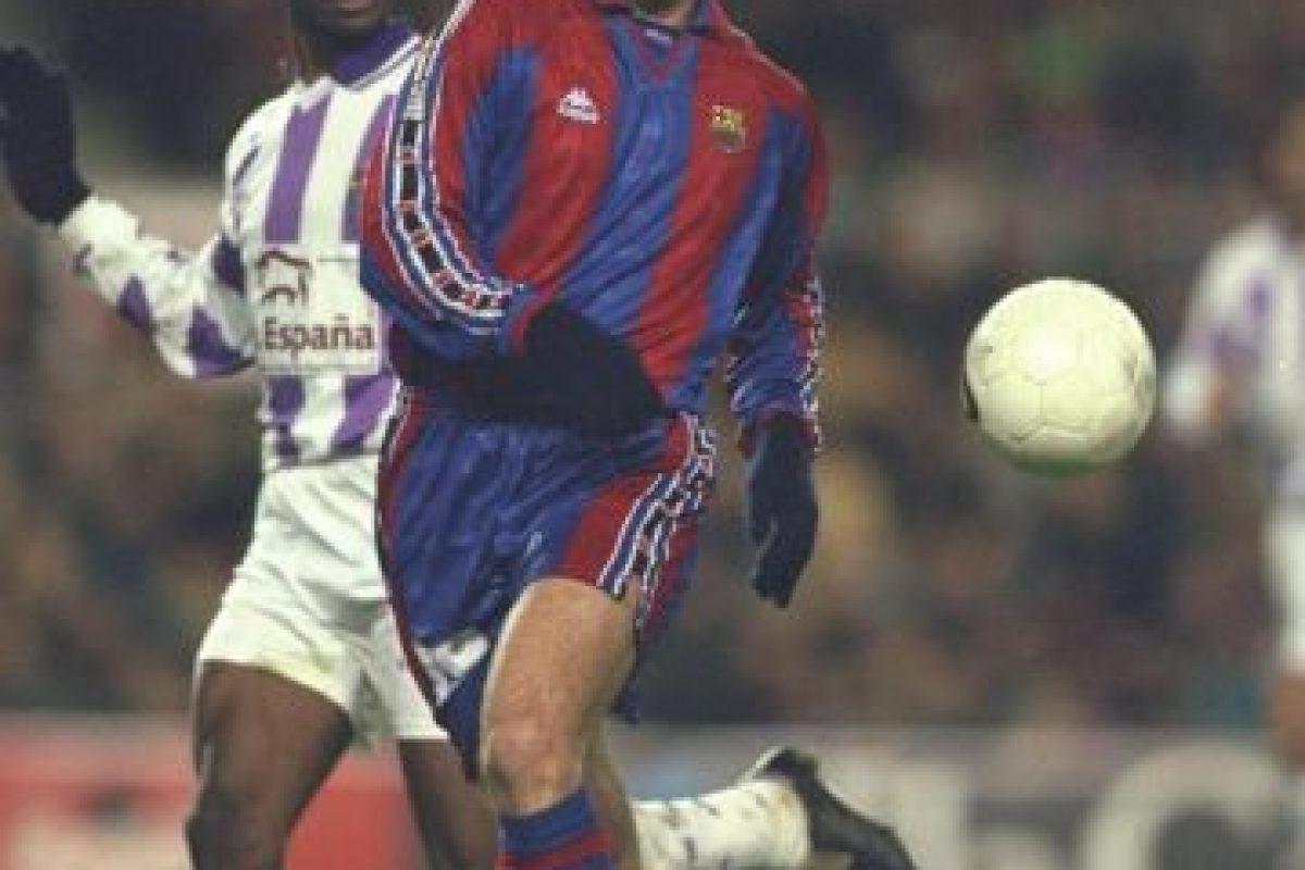 Formó parte del Barcelona de 1996 a 1998 Foto:Getty Images. Imagen Por: