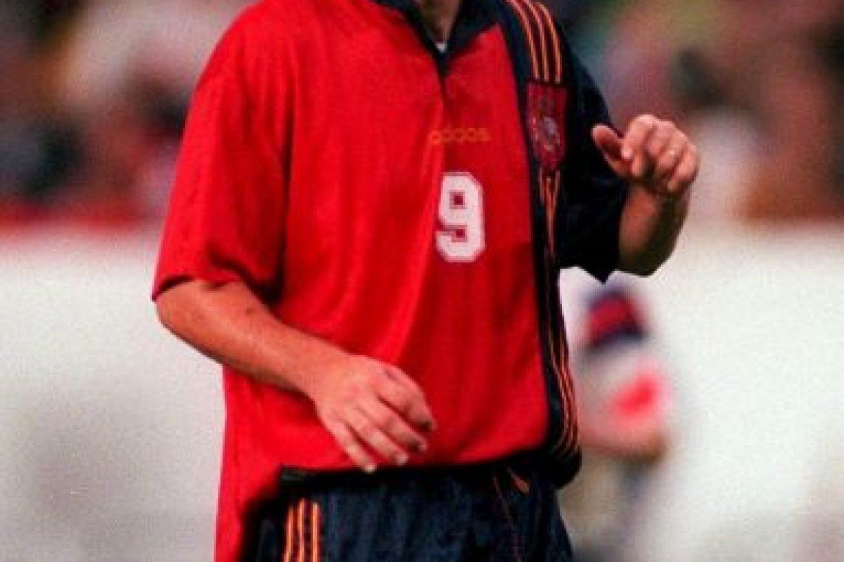 Fue mundialista en 1998 con la Selección de España Foto:Getty Images. Imagen Por: