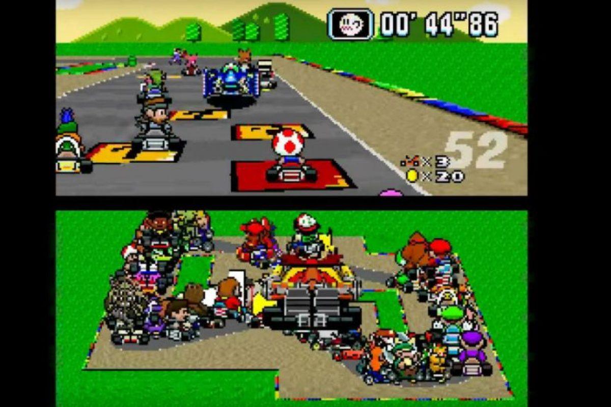 """Así es """"Mario Kart"""" con 101 jugadores al mismo tiempo. Foto:Vía Hat-Loving Gamer / Nintendo / YouTube. Imagen Por:"""
