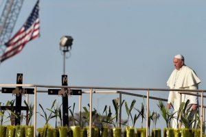 Su último recorrido lo hizo en el estado de Chihuahua ubicado al norte del país, donde visitó la frontera entre México y Estados Unidos. Foto:AFP. Imagen Por: