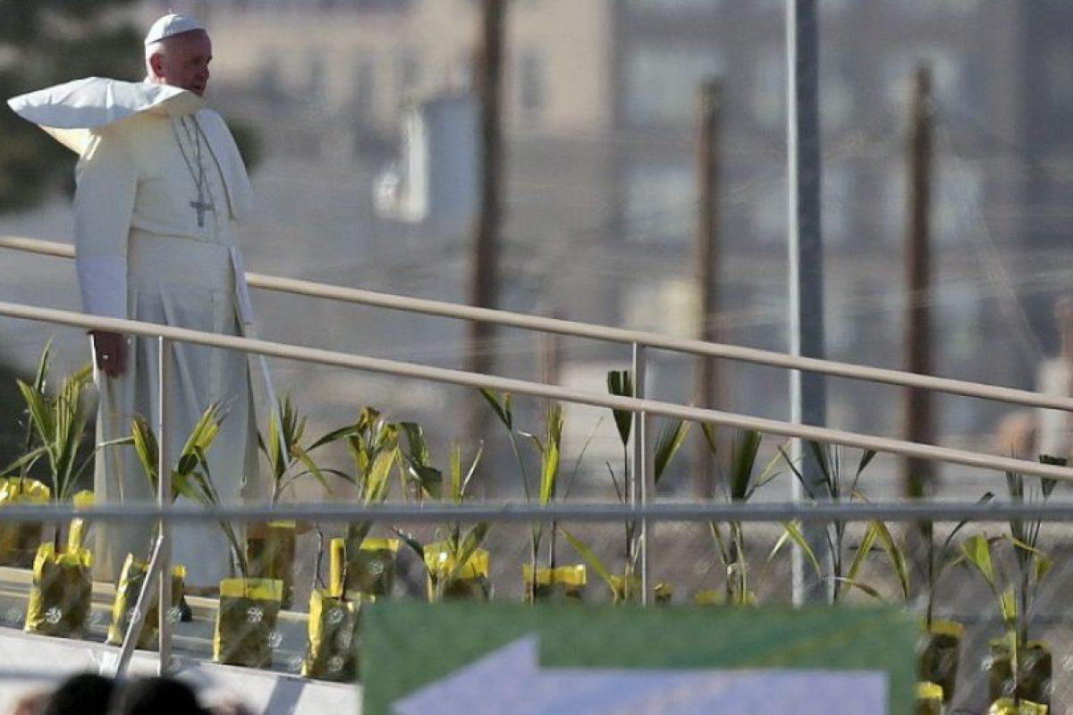 El Papa visitó por primera vez México el 12 de febrero. Foto:AFP. Imagen Por:
