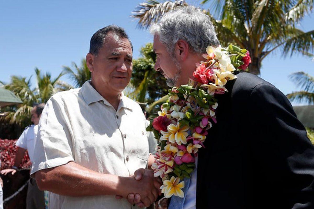 Pedro Edmunds Paoa, alcalde de Rapa Nui Foto:Aton Chile. Imagen Por: