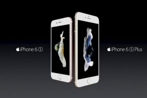 Apple con el iPhone 6s y iPhone 6s Plus. Foto: Apple. Imagen Por:
