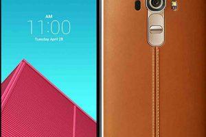 LG con su el LG G4. Foto:LG. Imagen Por: