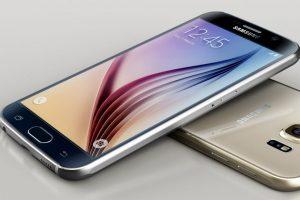 Samsung con el Samsung Galaxy S6. Foto:Samsung. Imagen Por: