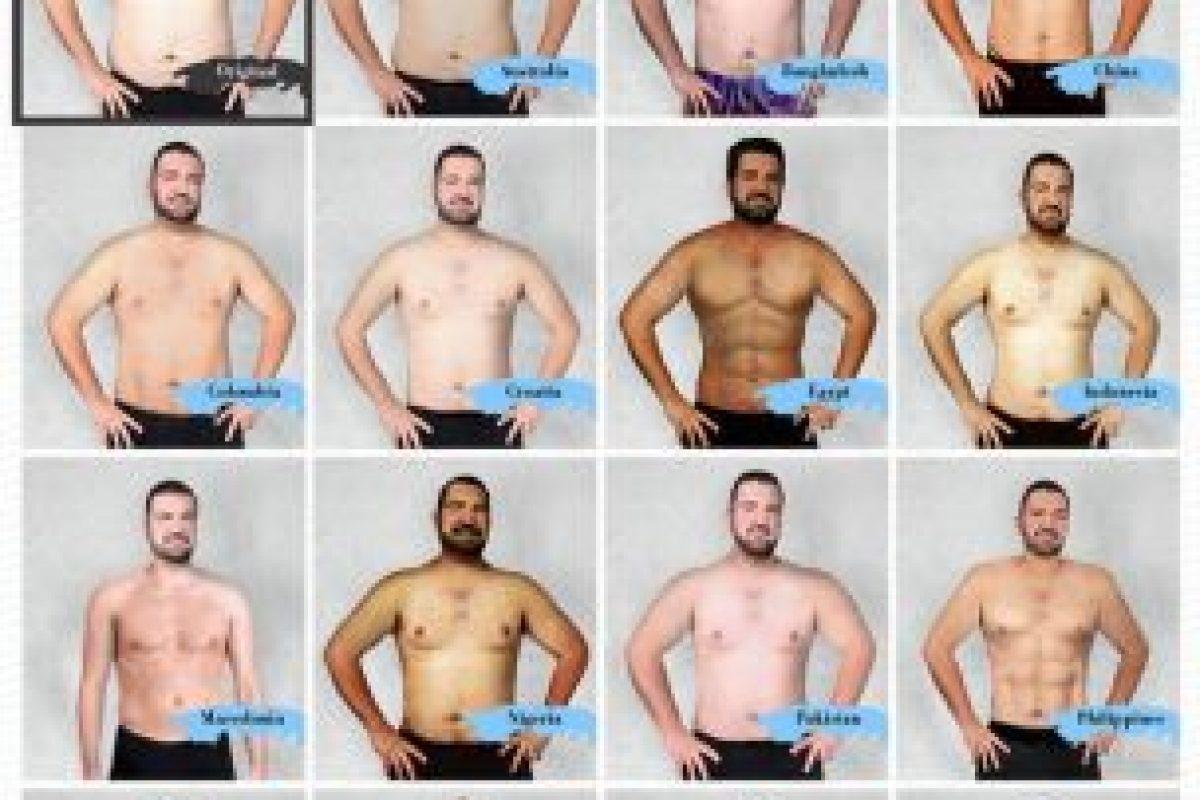 Así fue el experimento. Foto:Vía onlinedoctorsuperdrug.com. Imagen Por: