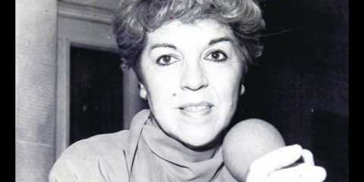 Fallece destacada locutora radial Alodia Corral
