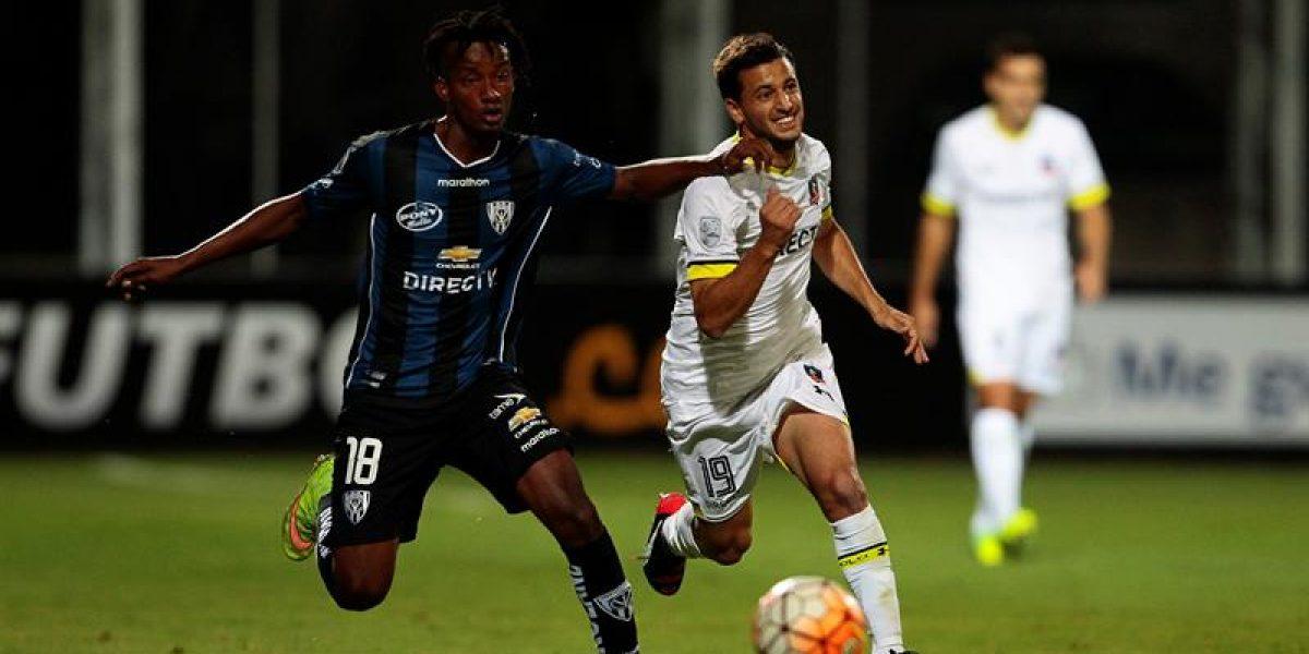 Colo Colo debutó en la Libertadores con un tibio empate ante Independiente del Valle