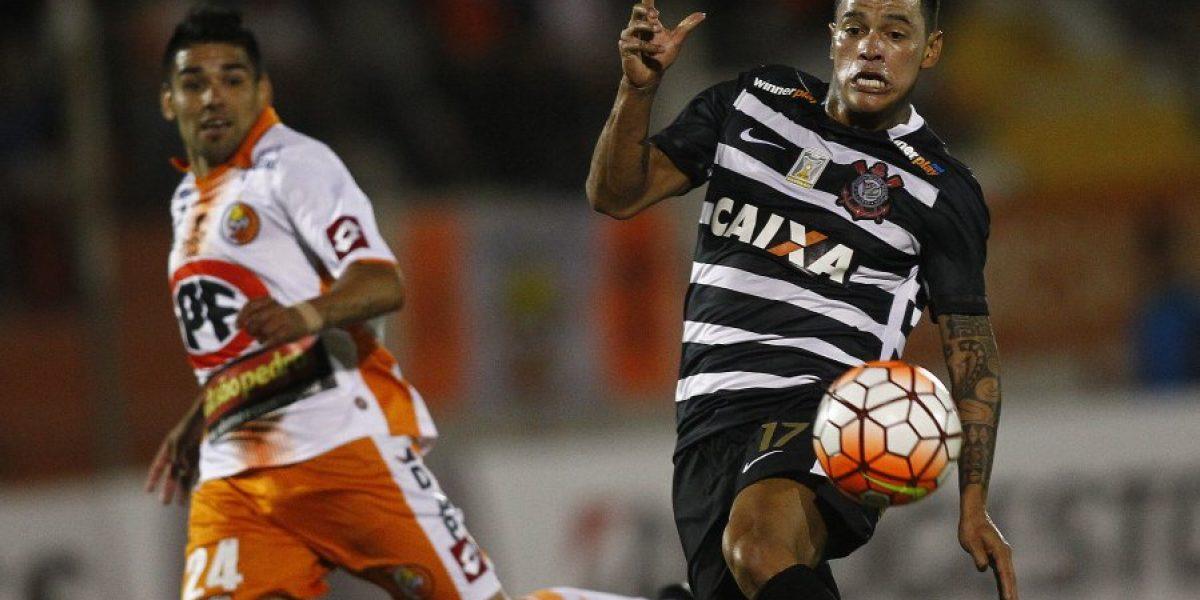 Escalona y el autogol en los descuentos ante Corinthians: