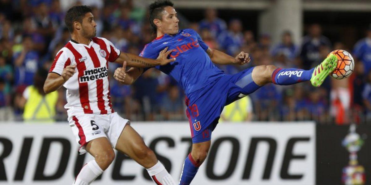 Canales no logra recuperarse y sigue siendo duda para el partido ante Audax Italiano