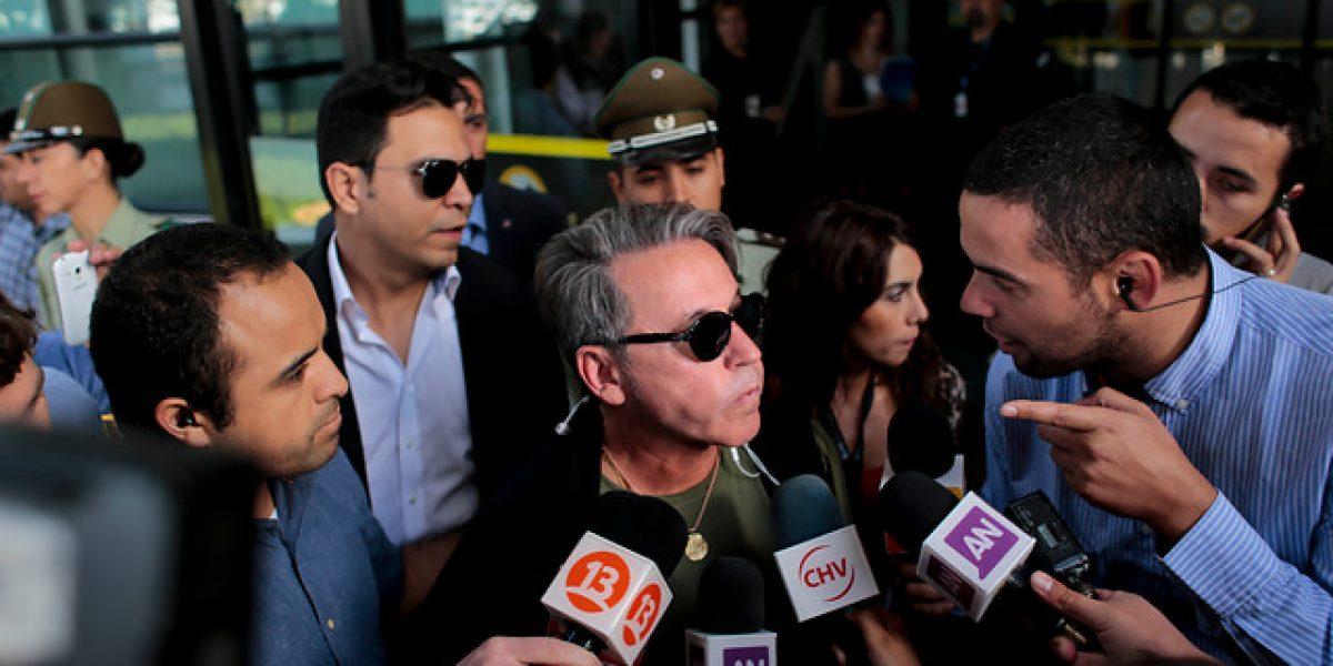 Ricardo Montaner llega a Chile para participar en Viña 2016