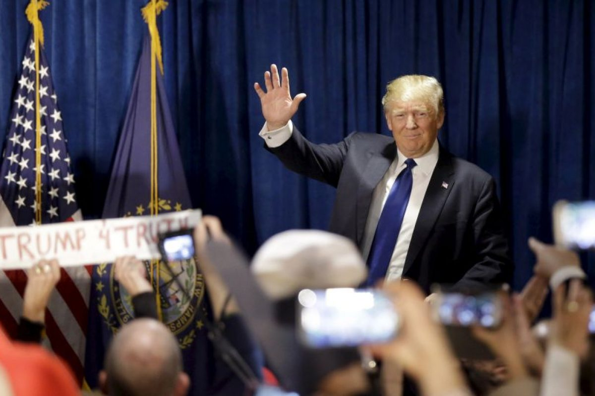 Días antes, Trump criticó al Papa por su visita a la frontera. Foto:AP. Imagen Por:
