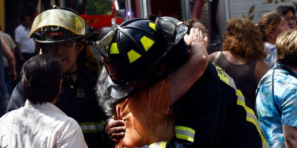 Maipú: desconocidos atacaron cuartel de bomberos a pedradas por segunda vez