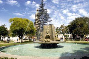 Pileta PLaza de Armas, La Serena. Imagen Por: