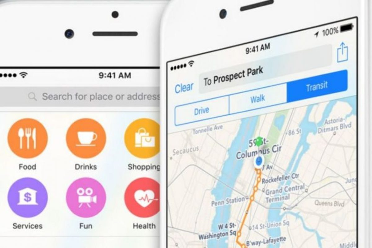 10. Maps (Apple). Foto:Apple. Imagen Por: