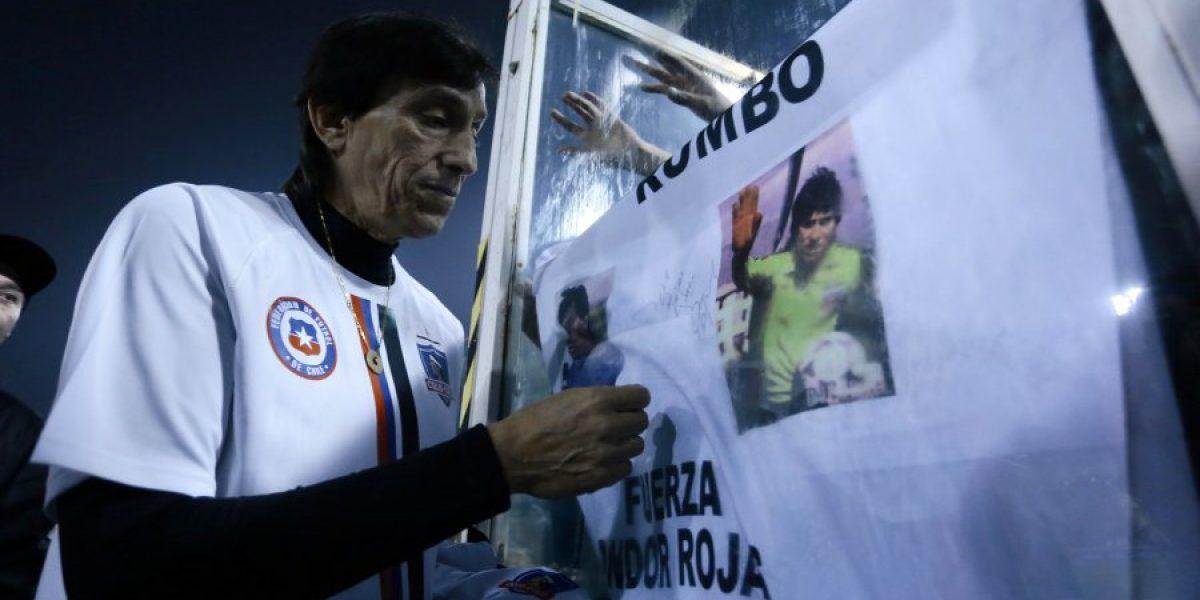 Cóndor Rojas de visita en Chile: