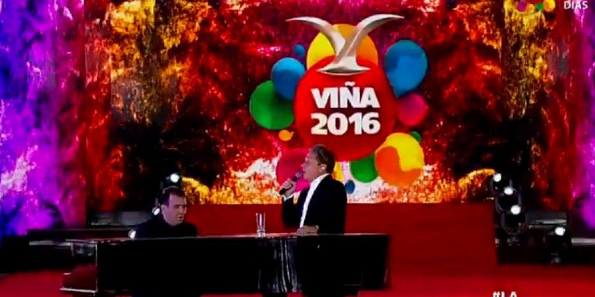 Viña 2016: rostros de la TV chilena y Ricardo Montaner animaron inicio de la gala