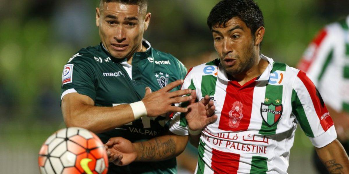 Wanderers y Palestino se farrearon varias chances y sólo sumaron un tibio empate