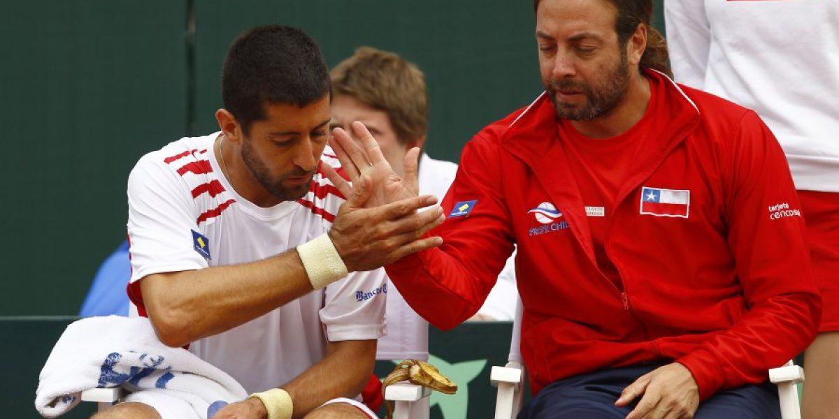 Massú se ilusiona con la Copa Davis: