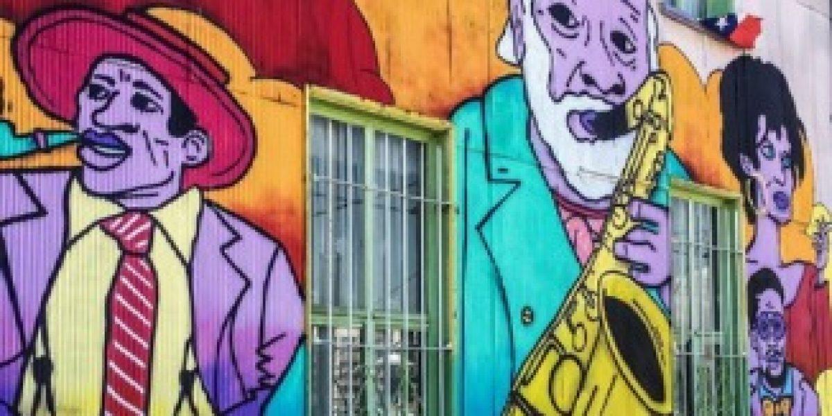 Ciudad chilena destaca dentro de 13 urbes del mundo para ver arte urbano