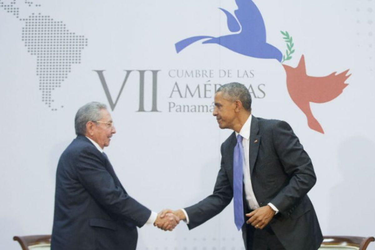 Para abril de 2015 ambos presidentes se reúnen en Panamá durante la Cumbre de las Américas. Foto:AP. Imagen Por: