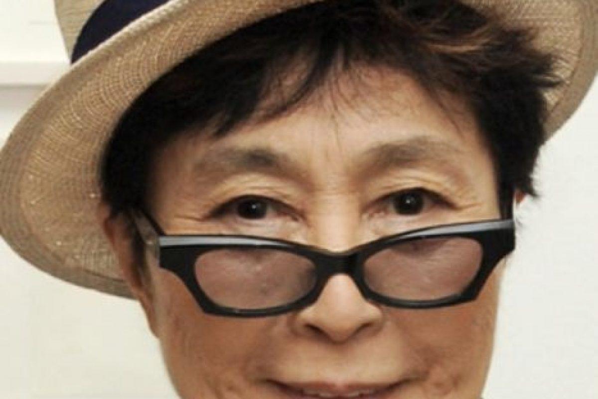 Yoko Ono Foto:Getty Images. Imagen Por: