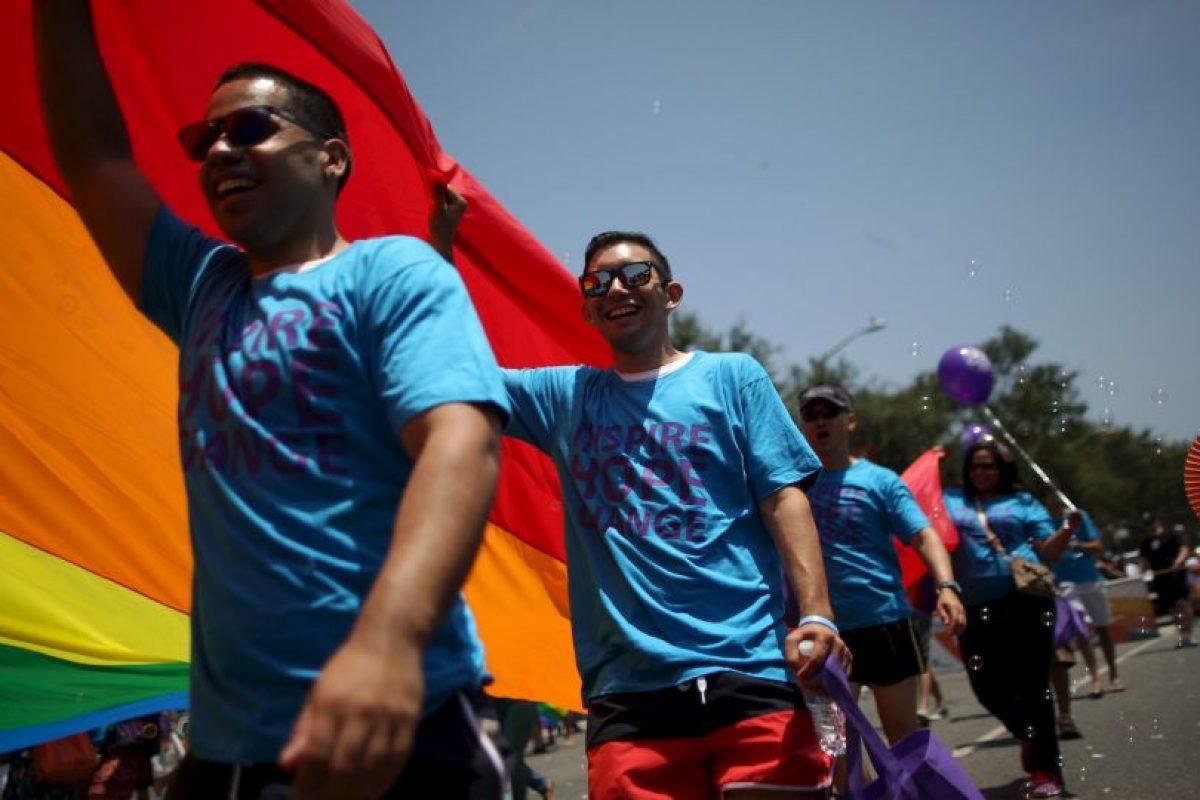 El 26 de junio de 2015 la Corte Suprema otorgó a las parejas del mismo sexo el derecho de casarse. Foto:Getty Images. Imagen Por: