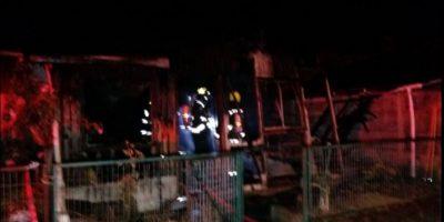 Incendio deja a dos personas calcinadas y una gravemente herida en Contulmo