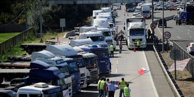 """Burgos y camioneros: """"Si deponen las manifestaciones van a estar las puertas abiertas"""""""