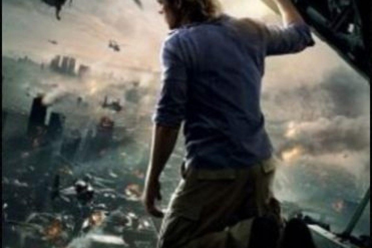 """1- """"Guerra Mundial Z"""". Foto:Vía Netflix. Imagen Por:"""