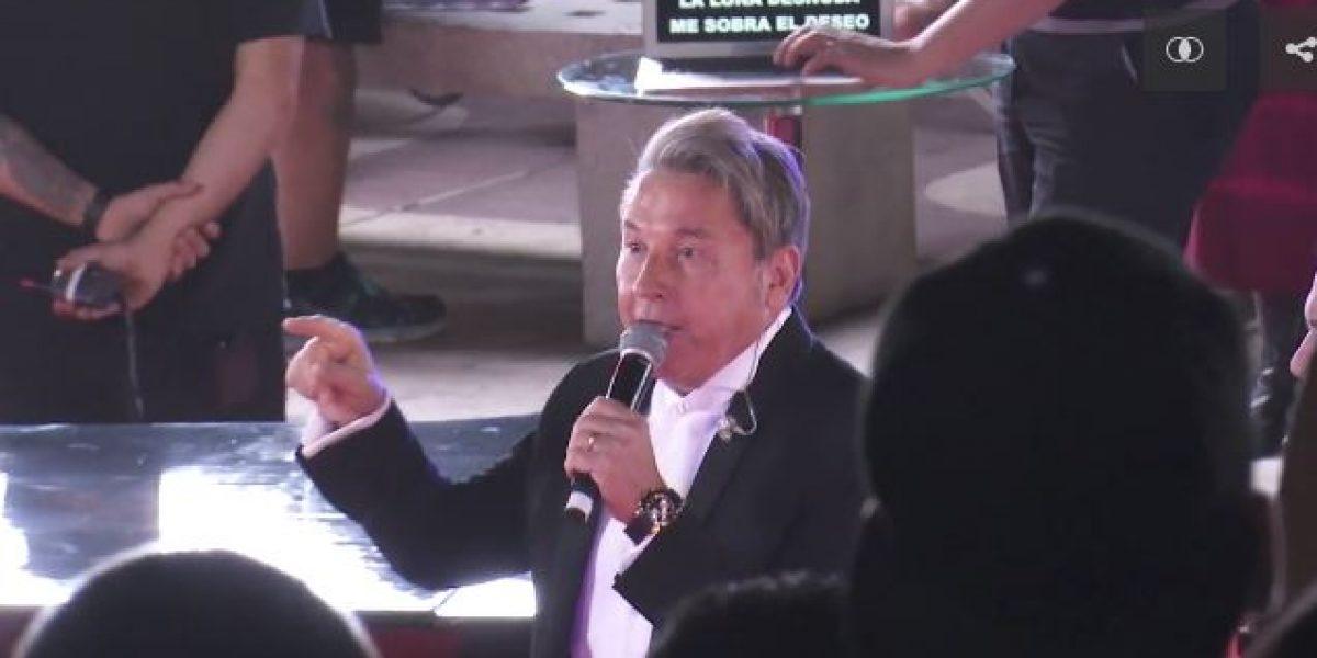 Gala 2016: así Montaner preparó sorpresa cantando en vivo en inicio de la alfombra roja